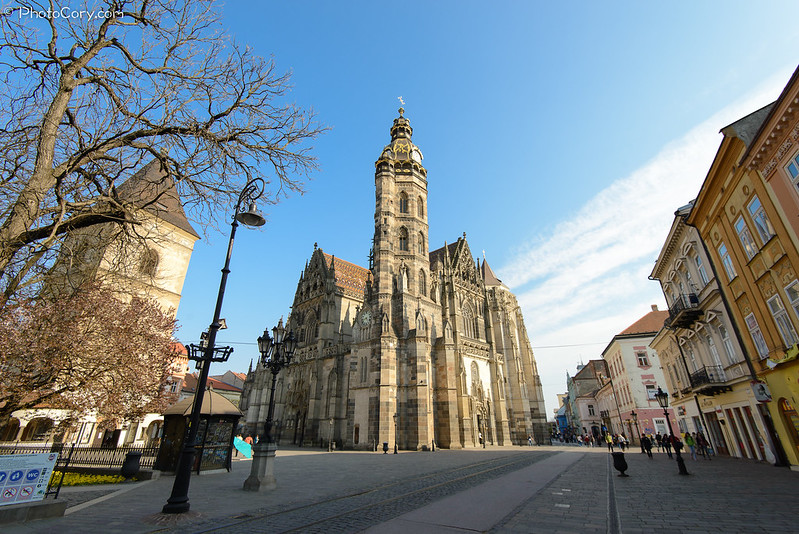 St. Elizabeth Cathedral in Kosice, Slovakia