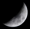 Waxing Crescent, 38% of the Moon is Illuminated taken on April 05, 2014 with a Panasonic FZ70/LT55 TCL JPEG P1030815 by Ted_Roger_Karson