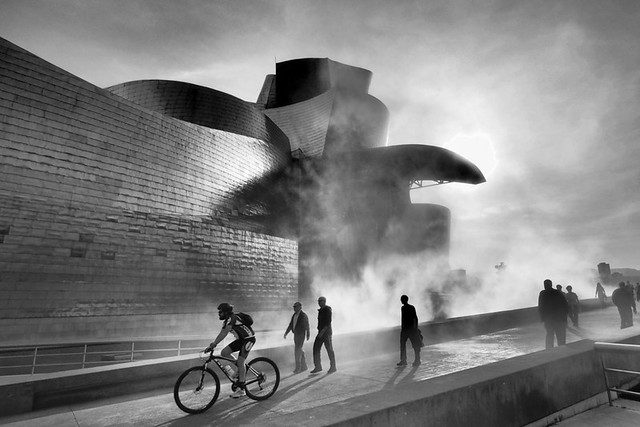 Bilbao urban landscape