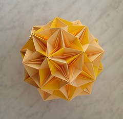 One of Tomoko Fuse's modular balls