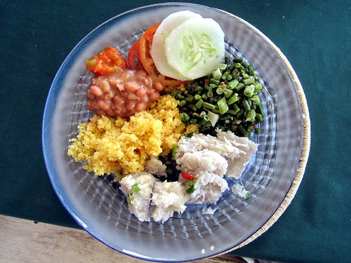 guyana meal vegetarian surama rupununi