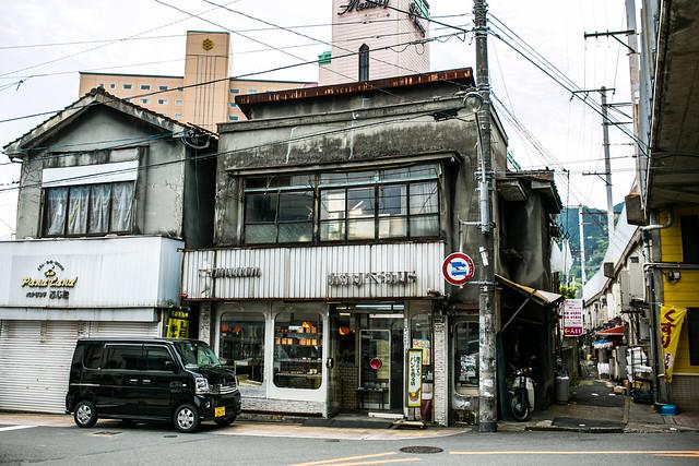 昭和の残る別府の街並み