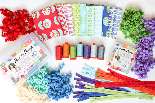 Favorite Things Aurifil Thread Collection - Color Me Retro