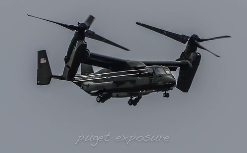 HMX-1 MV-22B Executive Transport Taking Off