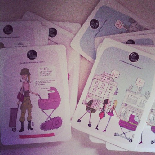 Quand yes we mum envoi des cartes c'est par centaines ^^ #ourlittlefamily #france