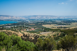 Southern tip, Lake Kinneret (Sea of Galilee), Jordan Valley, Israel