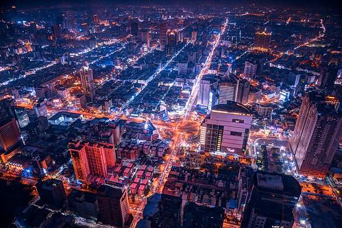 city building night asia view taiwan cityview kaoshiung 2014 utban asiancity 85tuntexskytower