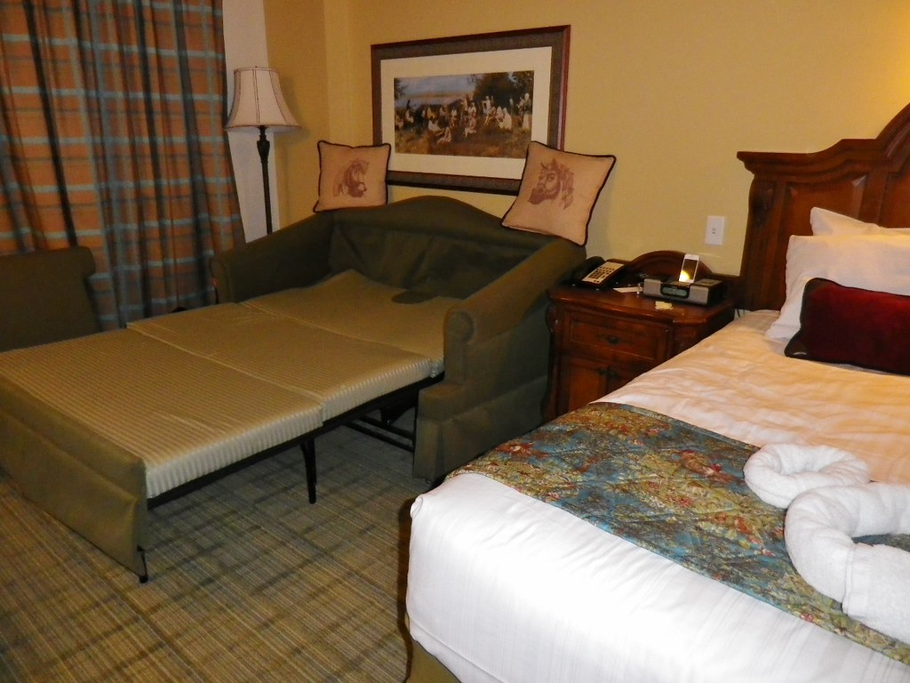 Surprising Sleeper Sofa At Saratoga Springs The Dis Disney Discussion Short Links Chair Design For Home Short Linksinfo
