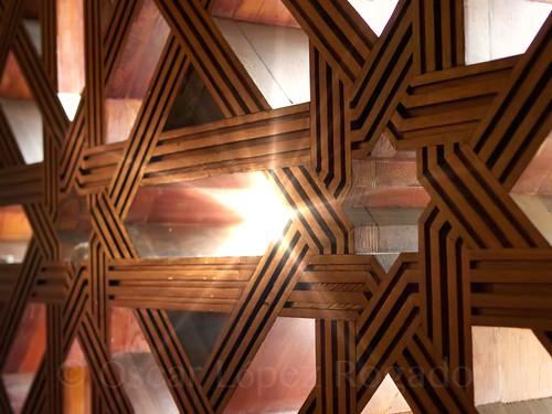 Tres estrellas en la Mezquita - Catedral de Córdoba