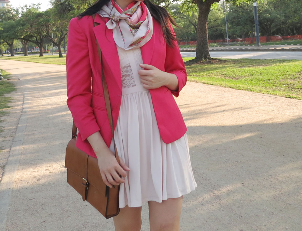 Monochrome pink outfit