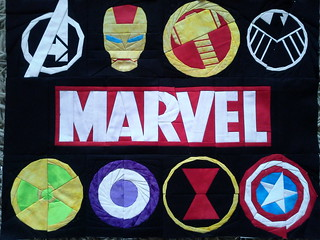 marvel wall hanging