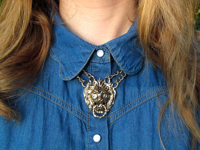 Ever Ours Lion Necklace