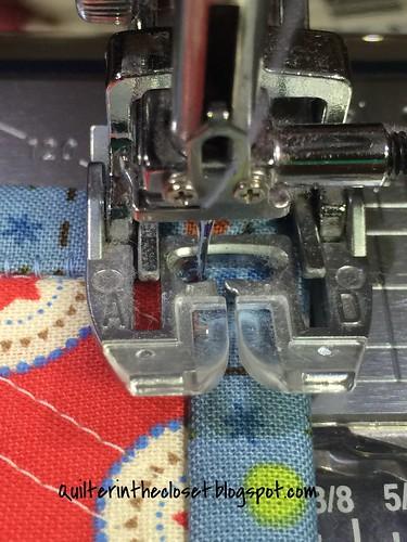 Corners: machine binding