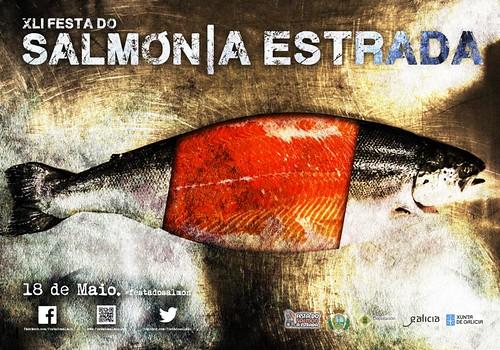 A Estrada 2014 - XLI Festa do Salmón - cartel