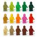 Monochrome minifig by Vanjey_Lego