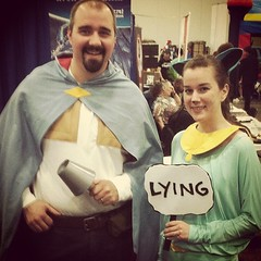 #SAGA #cosplay at #xcon ! How awesome is that? #prettyawesome #lying #image #thewill #lyingcat #comics #cons