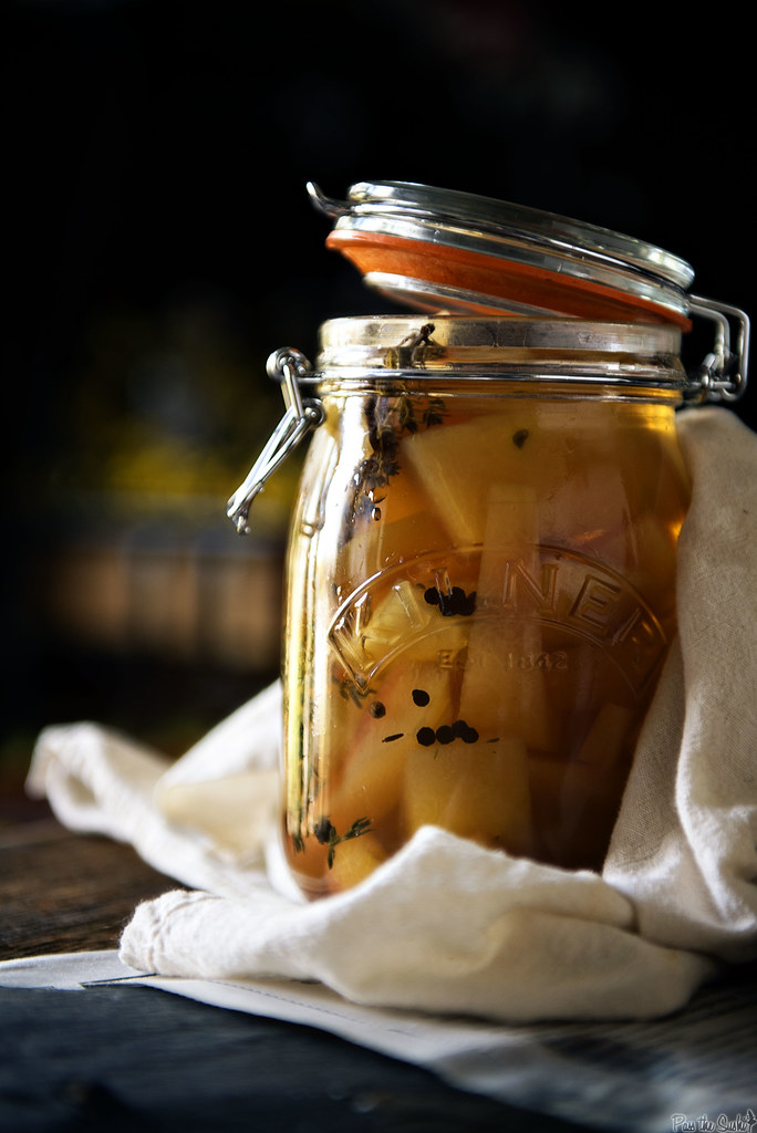 Pickled Watermelon Rind for Salads \\ PasstheSushi.com