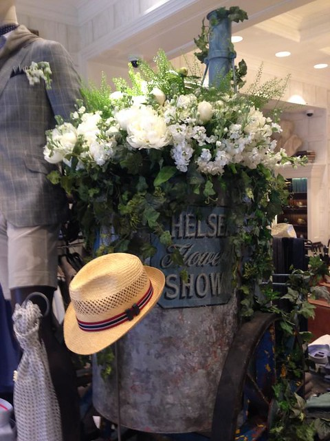 hackett Chelsea in Bloom 2014
