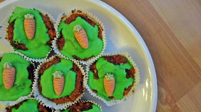 Goldengelchen Carrot Cupcakes
