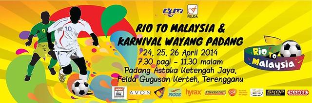 Banner Promosi Rio To Malaysia
