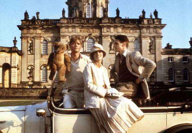 Retorno a Brideshead.  Anthony Andrews, Diana Quick, Jeremy Irons, 1981