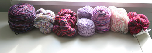 tubularity yarn - 7 skeins