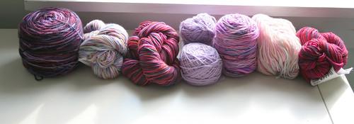tubularity yarn - 7 skeins