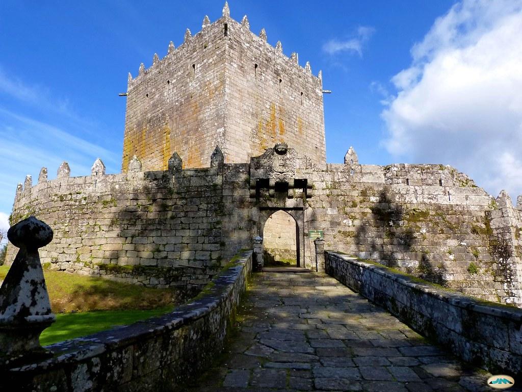 Castillo de Soutomaior-Puente levadizo