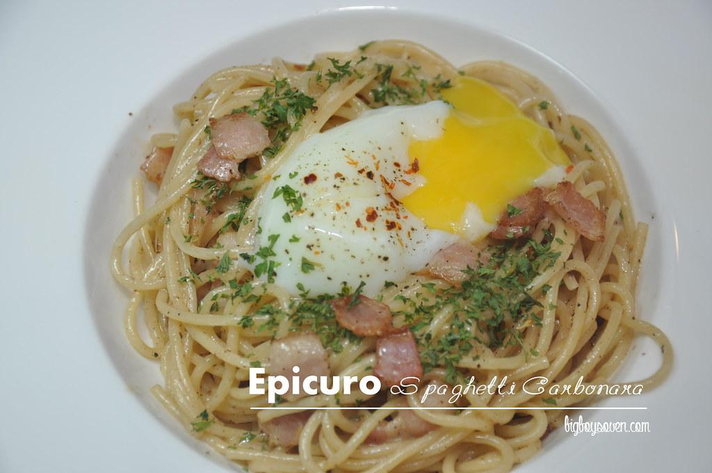 Epicuro Spaghetti Carbonara