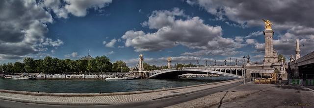 Pont Alexandre III Panorama