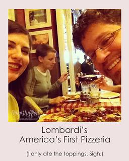 NYC Selfie Lombardi's