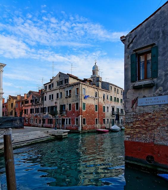 Venice : Rio de le Muneghete / Rio San Pantalon