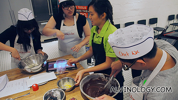 Cooking with Lenovo