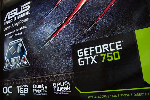 2014/06 ASUS GeForce GTX750