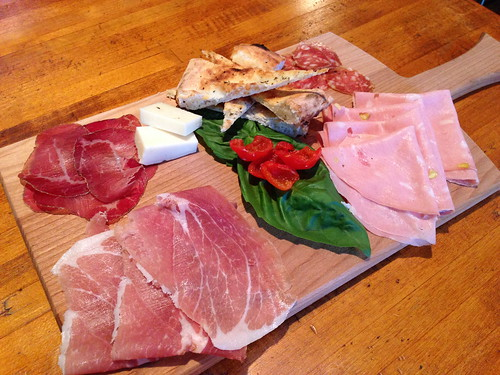 Charcuterie at DeSano Pizza