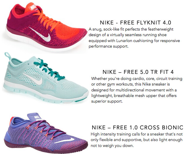 Colorful Kicks Workout Shoes