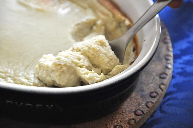 Soufflé al Gorgonzola Bimby