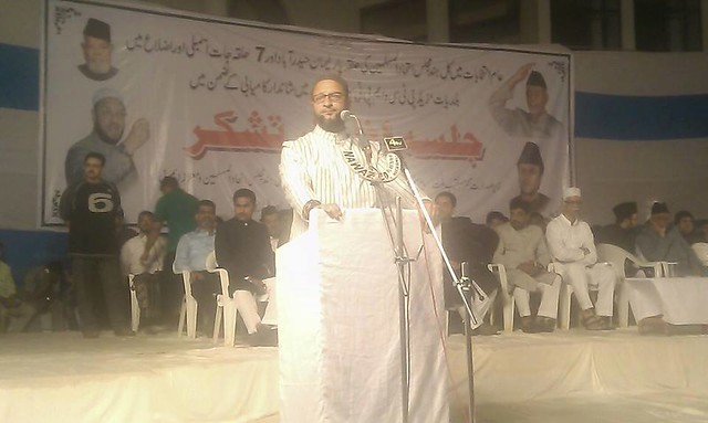 MIM cheif addressing thanks giving meeting.