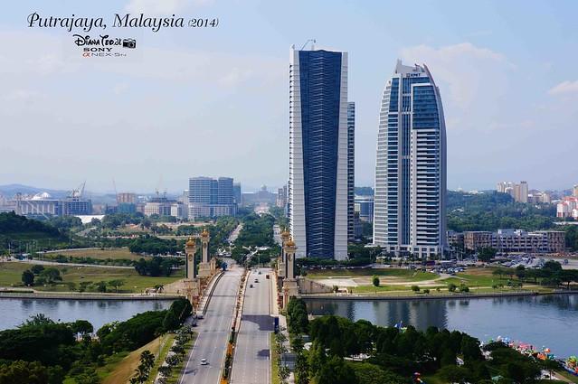 Putrajaya - View from PICC Putrajaya