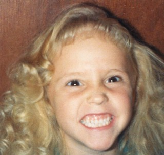 Brittny FLint-5 years old-is this a smile or what