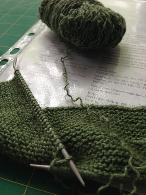 Garter stitch beginings