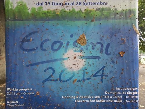 Dopo l'inaugurazione di #Ecoismi2014 by Ylbert Durishti