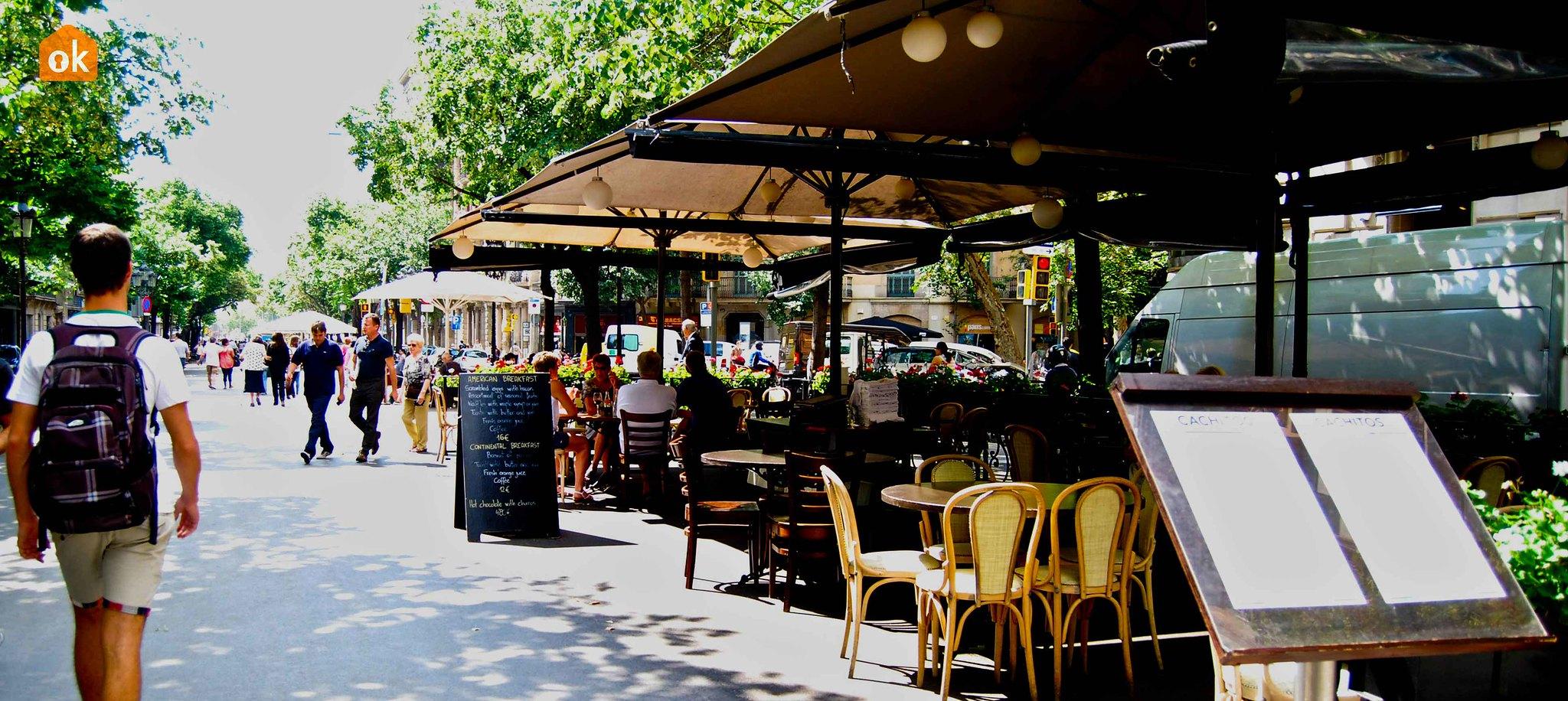 Rambla restaurants, Barcelona
