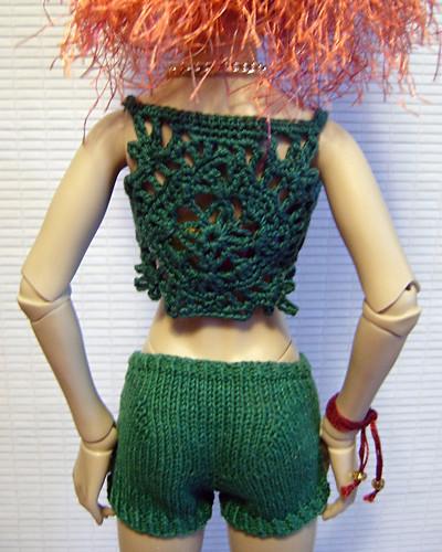 Lace Vest - Back