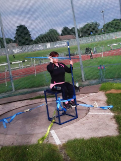 Jade Mullin practising Javelin I free2move.org