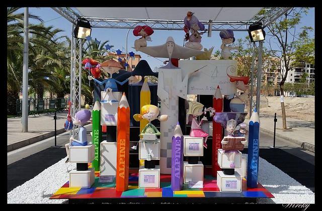 Baver-els antigons gana Fogueres 2014 infantil