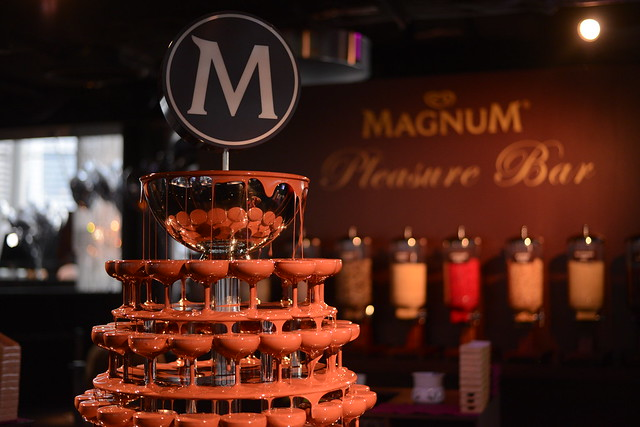 MAGNUM Chocolate Fountain