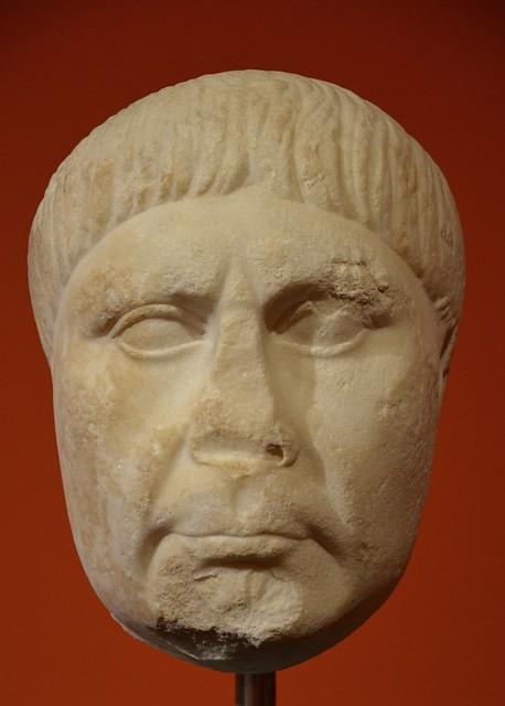 Portrait of the Roman emperor Trajan, ca. AD 117, Liebieghaus, Frankfurt am Main