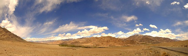 View from Hemis Monastery
