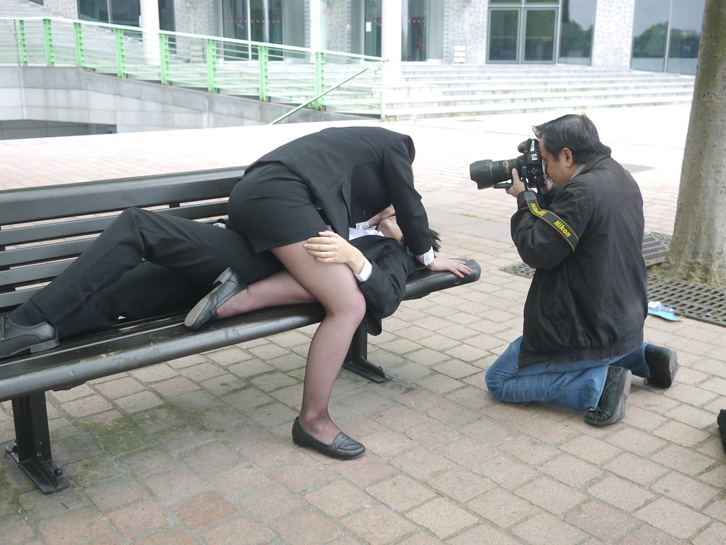 related image - Backstage Shooting La Défense - Pyscho Pass - 2014-06-01- P1870063
